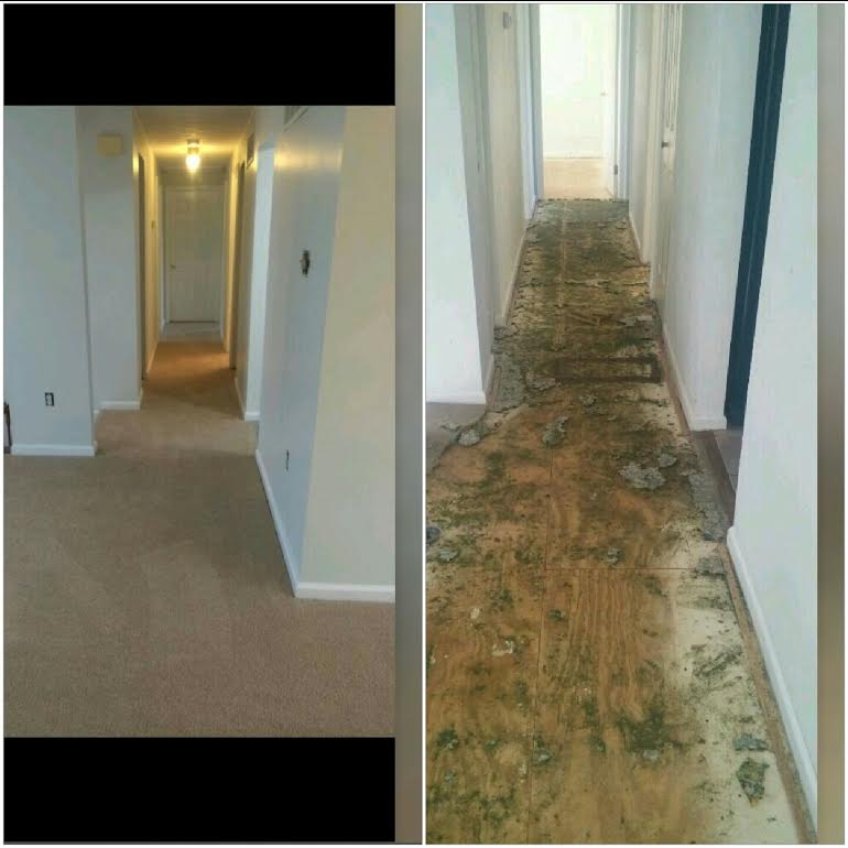 Flooring Installation Services Before and After